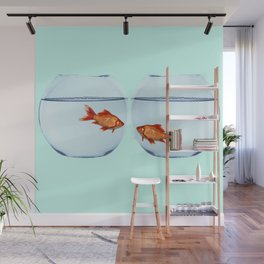 Two Fish Wall Mural