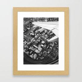 Wings over Rosslyn Framed Art Print