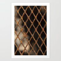 cage Art Prints featuring Cage by Bruce Stanfield
