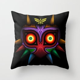 The Mask Of Majora Throw Pillow