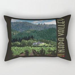 Napa Valley - Far Niente Winery - Oakville District Rectangular Pillow
