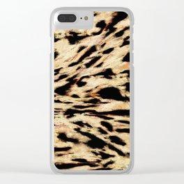 Big rock scraper Clear iPhone Case
