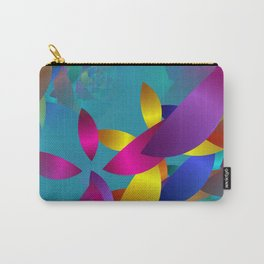 3D abstraction -19- Carry-All Pouch