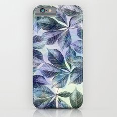 Leaves Watercolour iPhone 6s Slim Case