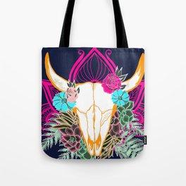 Desert Skull, Gypsy Art, Bohemian Art Tote Bag