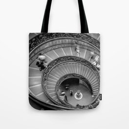 Down the spiral staircase Tote Bag
