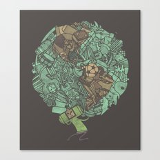 Prince Atlas Canvas Print