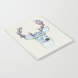 Christmas Deer - Forest animals series Notebook