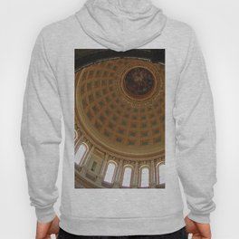 The rotunda of the Capitol building in Madison, Wisconsin Hoody