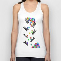 gravity Tank Tops featuring gravity by Nik Russo