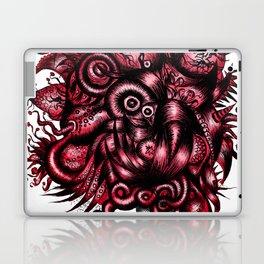 Spaceship Girl_Red Laptop & iPad Skin