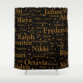 The Greats part 1 Shower Curtain
