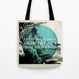 Swim the Sea Tote Bag