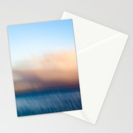 Sunset after the rain Stationery Cards