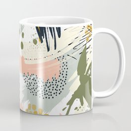 Abstract strokes still life Coffee Mug