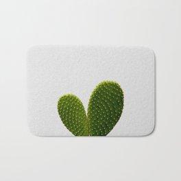 Heart Cactus Bath Mat