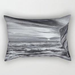 Sea storm approaching Rectangular Pillow