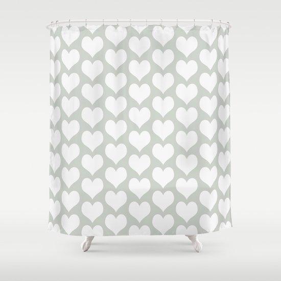 Love Sea Salt Shower Curtain