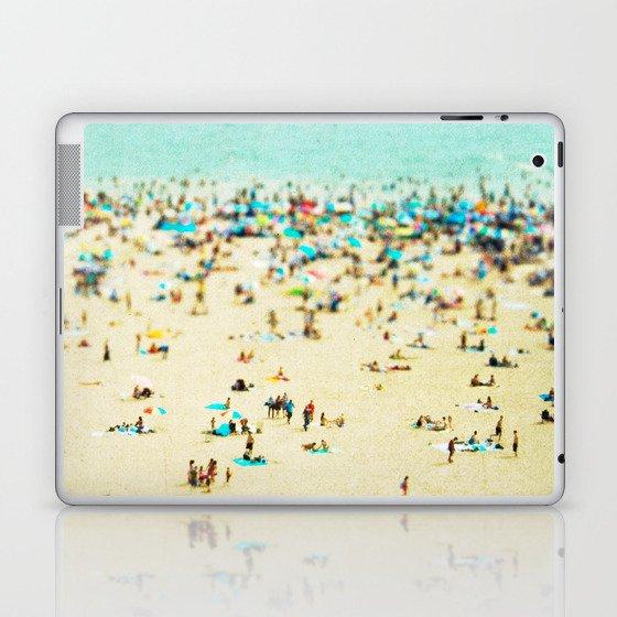 Coney Island Beach Laptop & iPad Skin