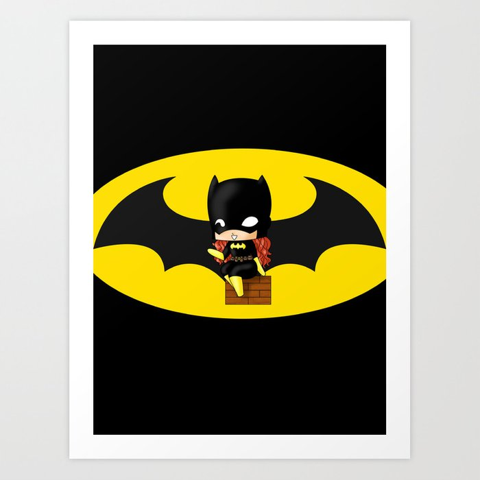 Batgirl art prints images reverse search for Websites similar to society6