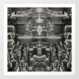 Citymmetry #1 Art Print