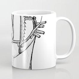 Gagged Coffee Mug