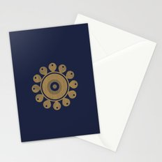 Wooden Flower Stationery Cards