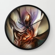 Wildflower Nephilim Wall Clock