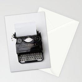 Vintage typewriter Stationery Cards