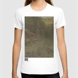 Fernand Khnopff - Landschap in Fosset T-shirt