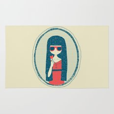 Lollipop girl Rug