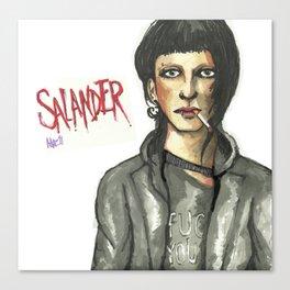 Salander Canvas Print