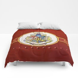 Red  Hp Comforters