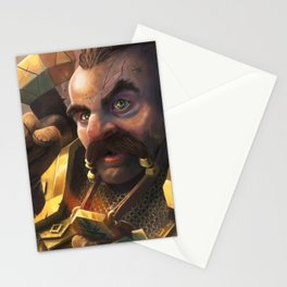 Cleric Dwarf Stationery Cards