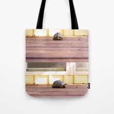 Mugshot Turtle Tote Bag