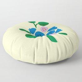 Fruit: Blueberry Floor Pillow