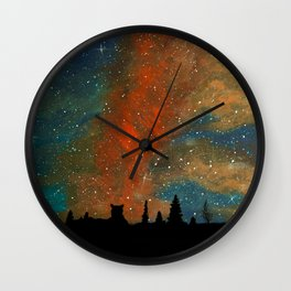 Vigilant Wall Clock