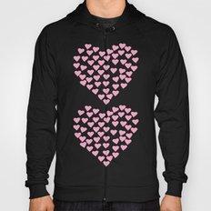 Hearts Heart x2 Pink Hoody