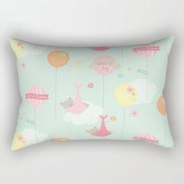 Amazing Baby Girl Design Rectangular Pillow