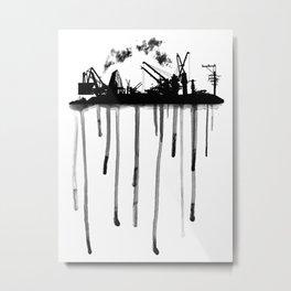 Develop-Mental Impact Metal Print