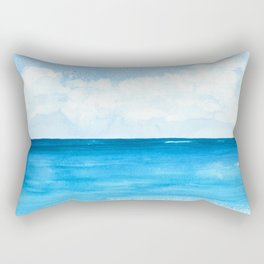 Elena's Ocean Rectangular Pillow