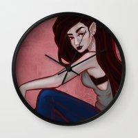 marceline Wall Clocks featuring Marceline by Persefone