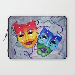 Comedy and Tragedy Laptop Sleeve