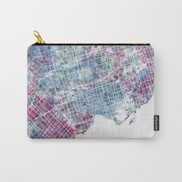 Toronto map Carry-All Pouch