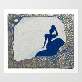 Olga Retrograde Art Print