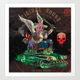 Death Rattle Art Print