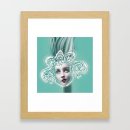 SEA GODDESS LEUCOTHEA Framed Art Print