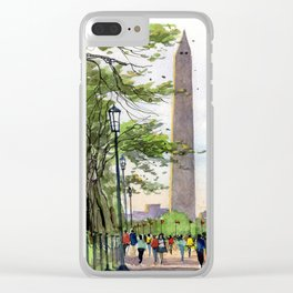The Mall, Washington D.C. Clear iPhone Case