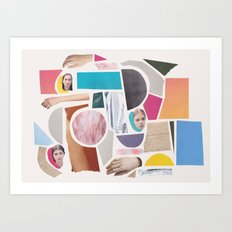 Stuff Art Print