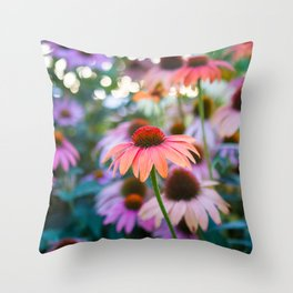 Growing Freely Throw Pillow